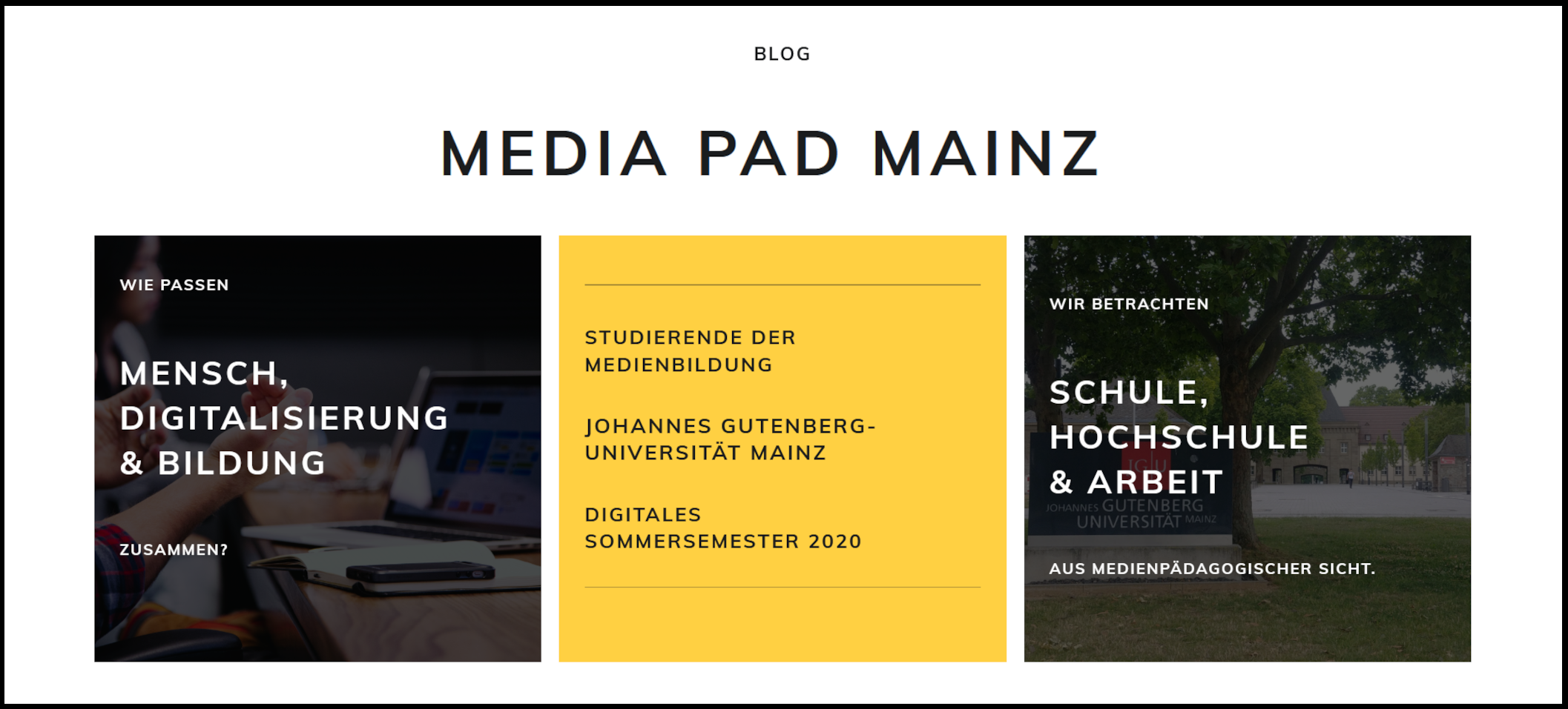 Media Pad Mainz