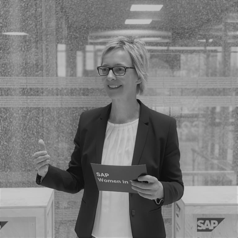 Christine Regitz, Head of Women, Tech@SAP